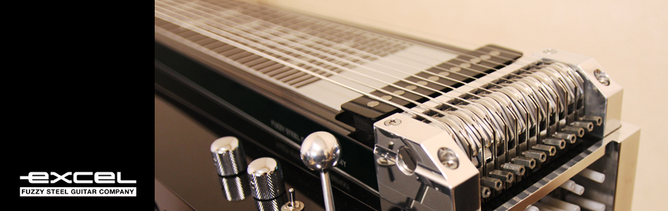 EXCEL FUZZY Pedalsteel Guitar Company